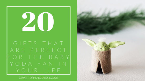 20 Gifts That Are Perfect For The Baby Yoda Fan In Your Life