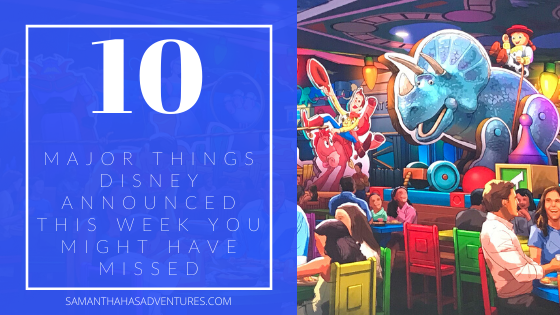The 10 Major Things Disney Announced This Week You Might Have Missed